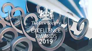 NCDV Shortlisted for Law Society Award